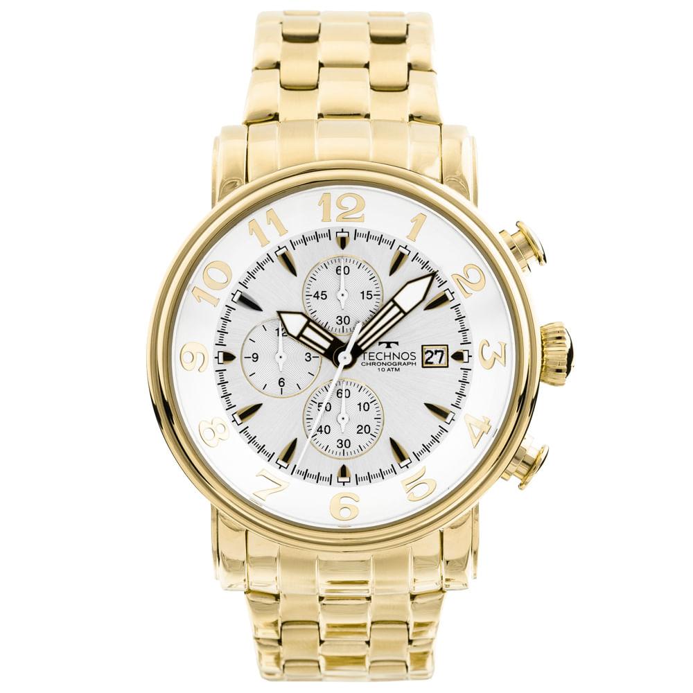 4353cf8a8f1 Relógio Technos Grandtech OS10CR 4K Dourado - timecenter