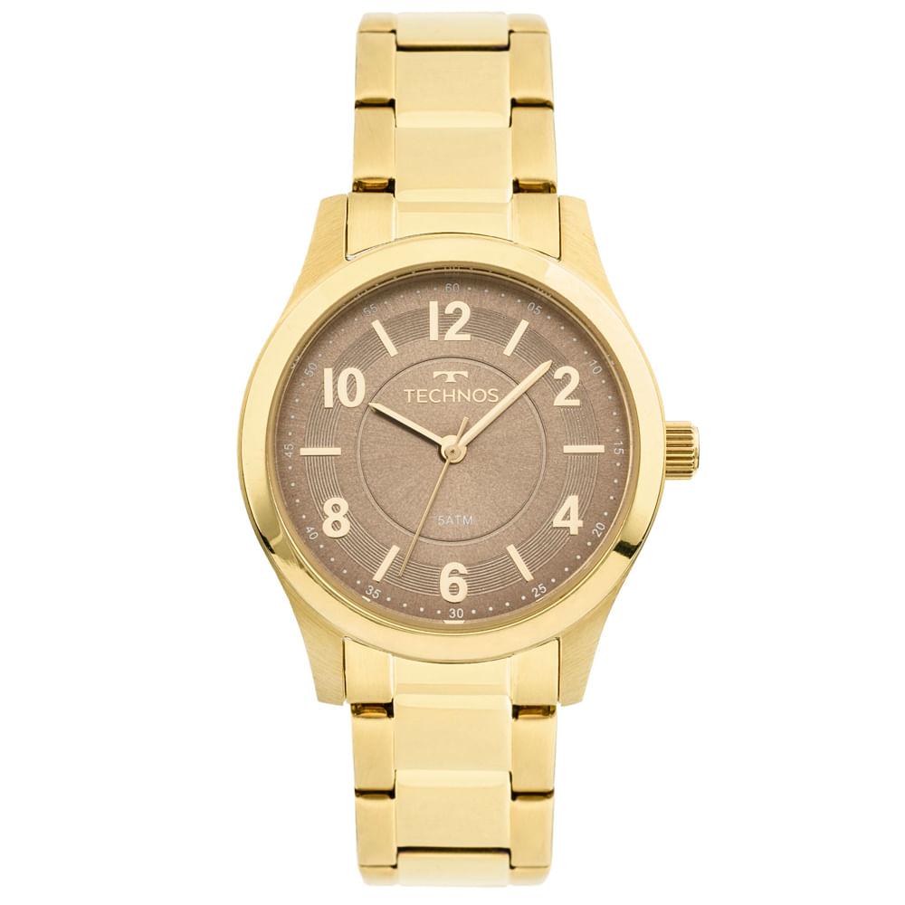 2b6196bcfa0 Relógio Technos Boutique 2035MFT 4M Dourado - timecenter