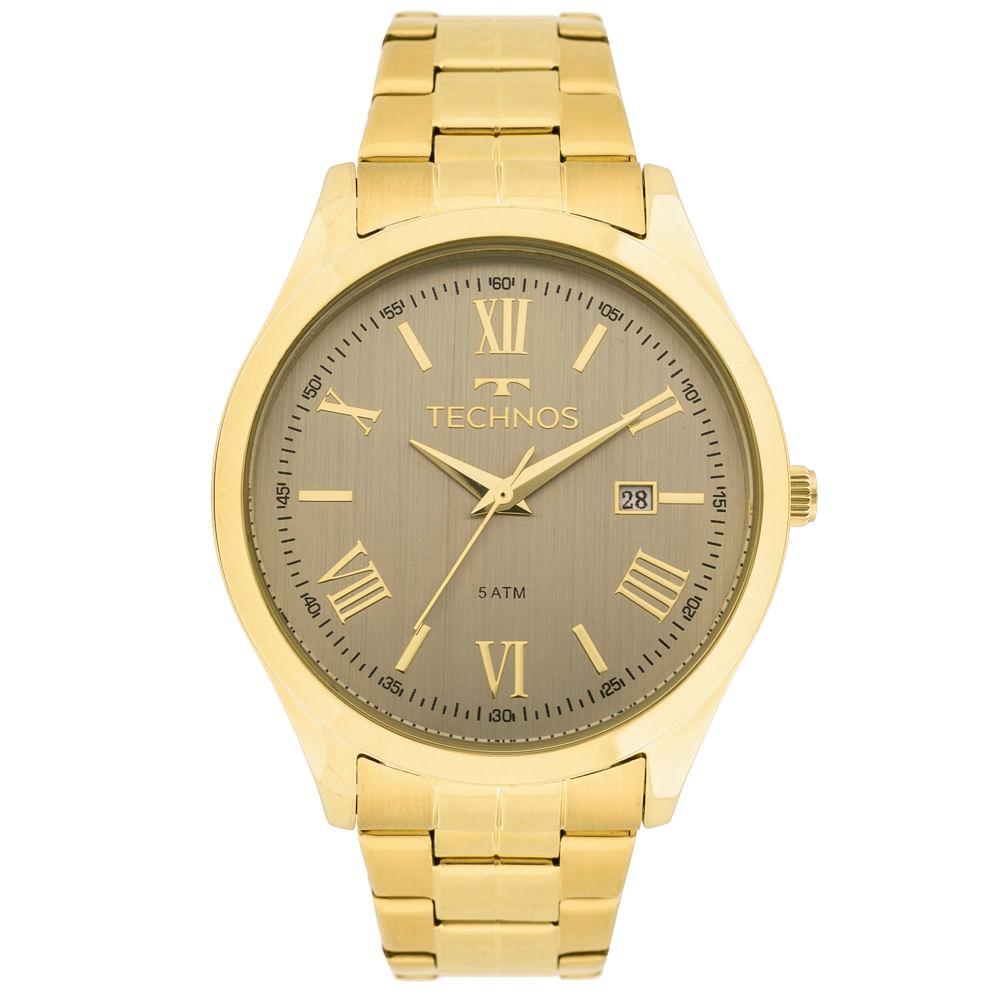 ddc71003759 Relógio Technos Dress 2115MGM 4C Dourado - timecenter