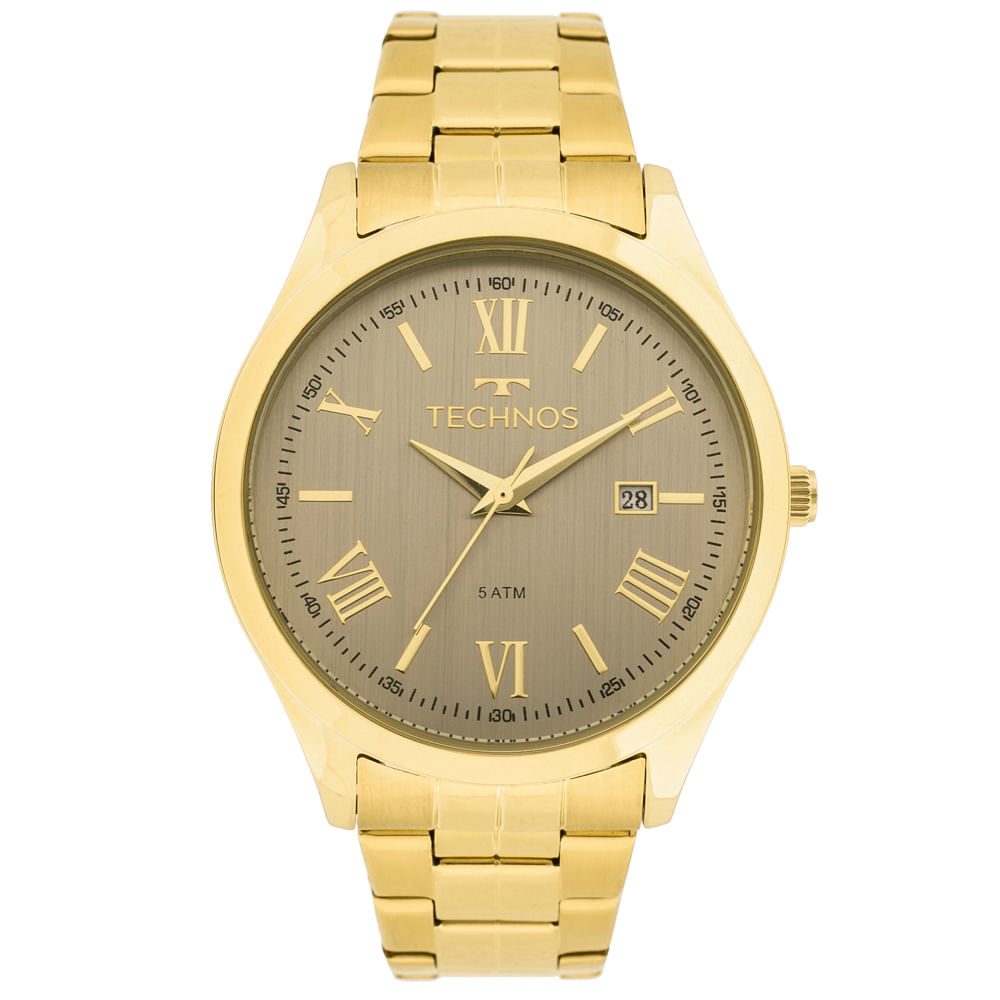 8fafb07c0c0 Relógio Technos Dress 2115MGM 4C Dourado - timecenter
