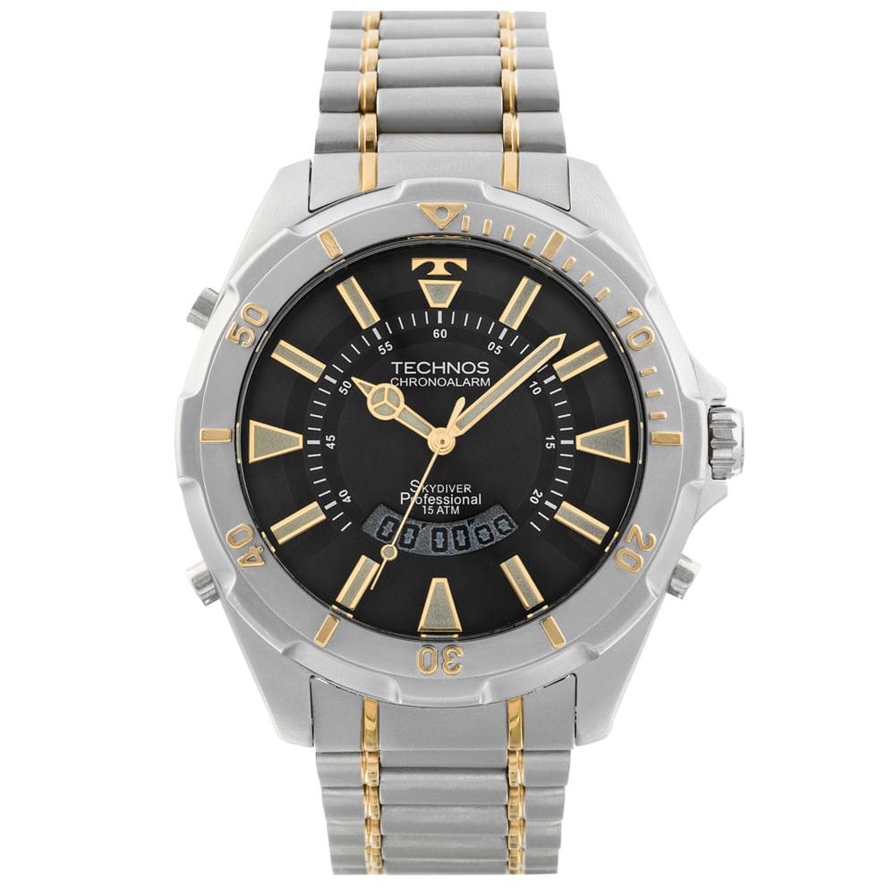 277d24057e6 Relógio Technos Masculino Skydiver - T205FQ 5P - timecenter