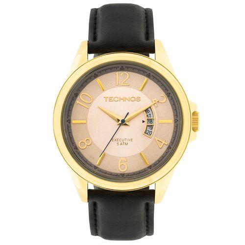 fd9a9e7de55 Relógio Technos Executive Masculino 2115KTE 2X Dourado - timecenter