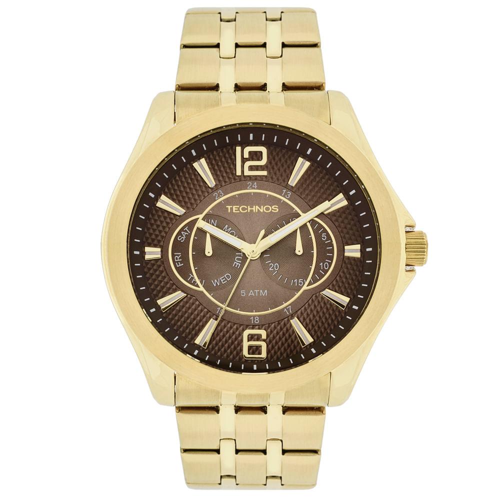 Relógio Technos Masculino Grandtech - 6P25AV 4M - timecenter 08d23bd9e9
