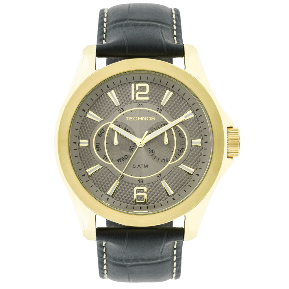 Relógio Technos Masculino Grandtech - 6P25AW 2C - timecenter f2a05d7df0