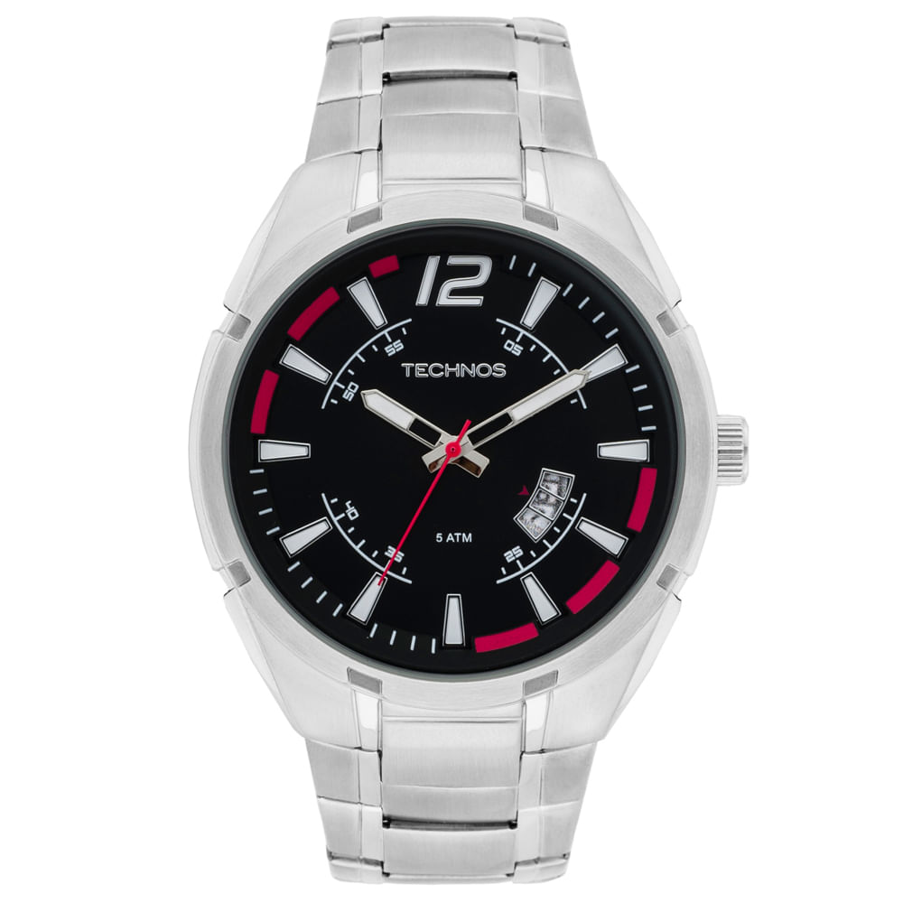 bdd3c335f9479 Relógio Technos Masculino Racer Analógico - 2115KTD 1R - timecenter
