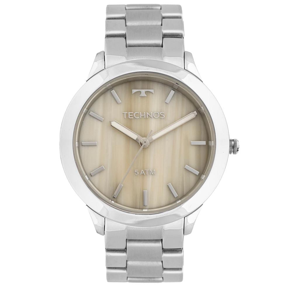 Relógio Technos Unique Y121E5DH 1C Prata - Tempo de Black Friday 82cdcf1786