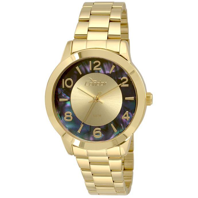 Relógio Condor Feminino CO2035KRJ 4A - Dourado 9200b52b8d