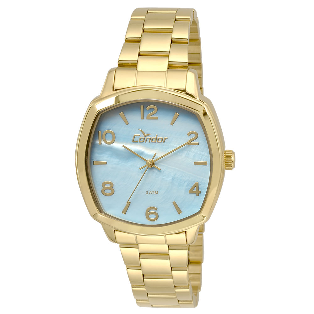 Relógio Condor Feminino CO235KRK 4A - Dourado, partir169 - timecenter 4434d35050