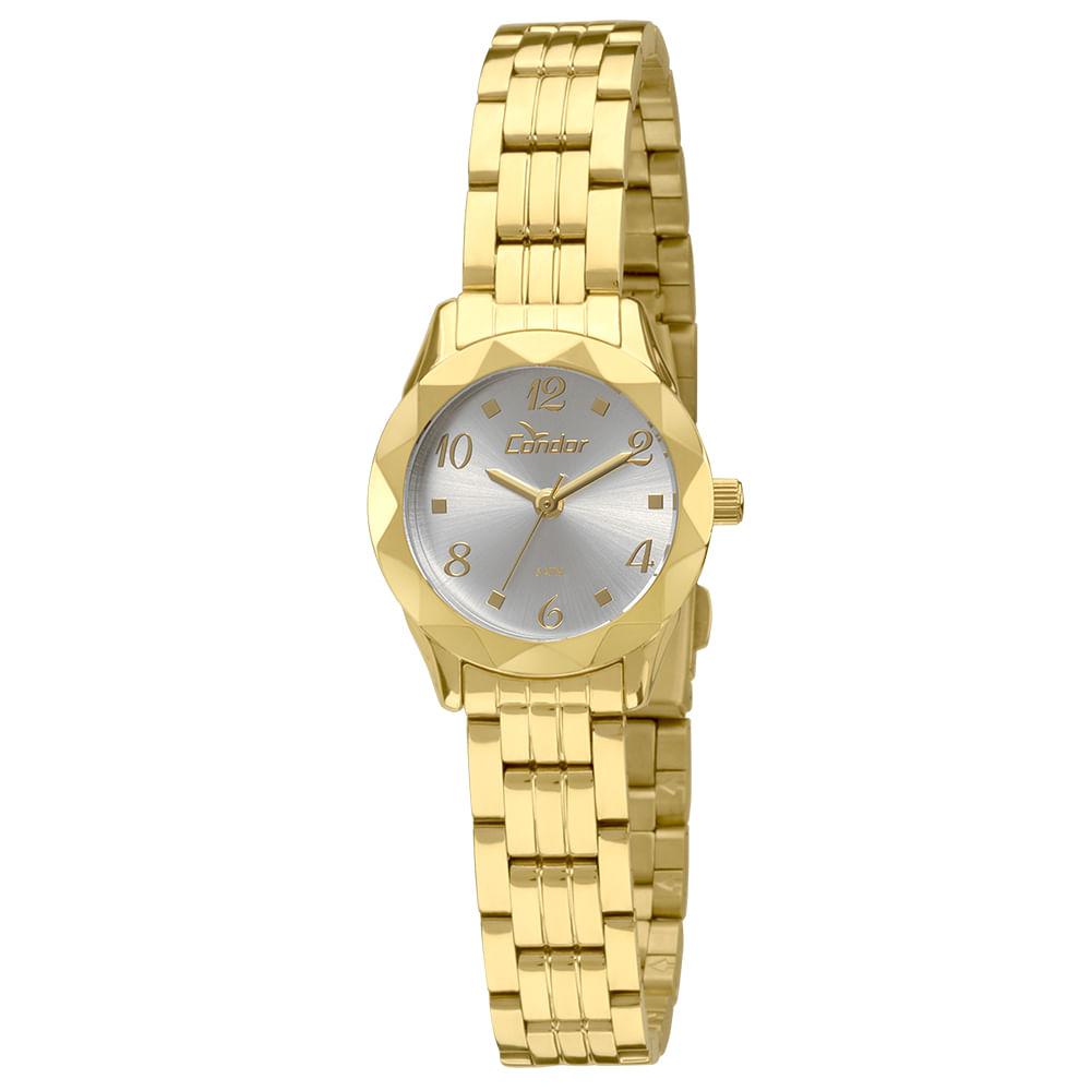 Relógio Condor Feminino Mini CO2035KPB 4K - Dourado. 0% Off. Código   CO2035KPB 4K 03b4c6bf4f