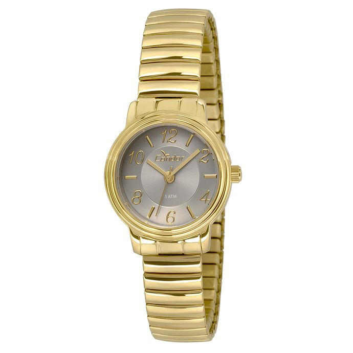 f5c60a471d1df Relógio Condor Feminino Mini CO2035KRN 4C - Dourado