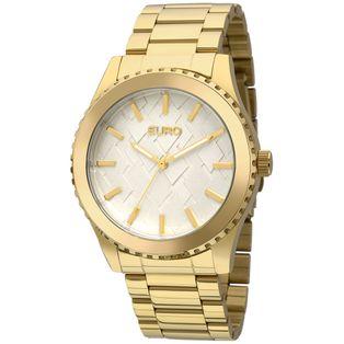 da451e12783 EU2036YDZ4D Ver mais. EU2036YDZ 4D Relógio Euro Feminino 3D Dourado ...