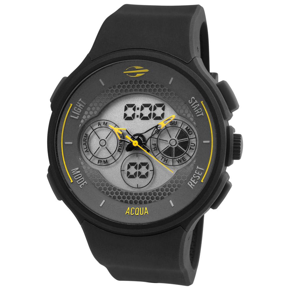 Relógio Mormaii Masculino Acqua - MO160323AK 8Y - timecenter 59121f1561