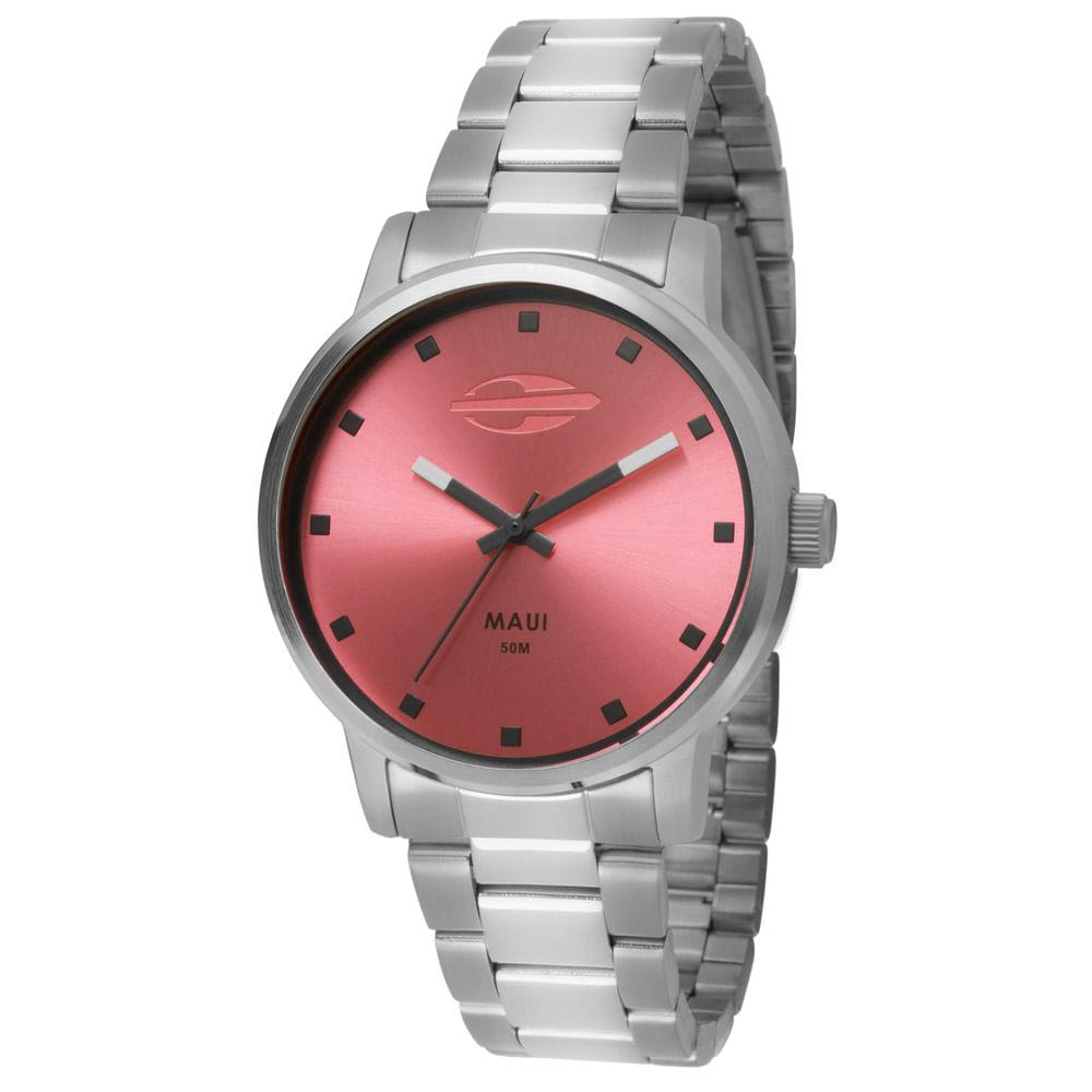 Relógio Mormaii Feminino Maui - MO2035FT 3T - timecenter 1bc3f4e618