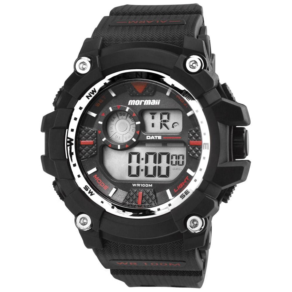 ee744e9174d5c Relógio Mormaii Masculino Acqua - MO3530A 8R - timecenter