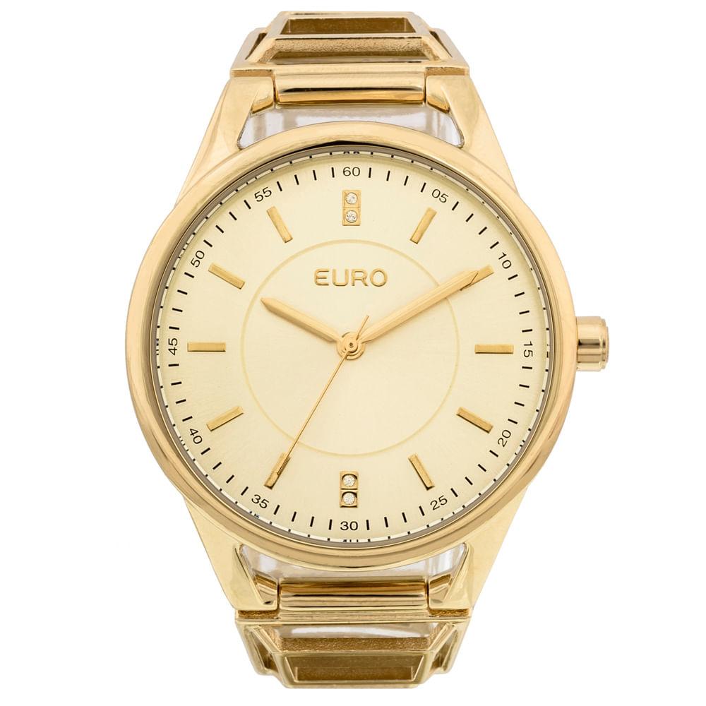 c4f750a8a11 Relógio Feminino Tribal EU2035YEQ 4D - Dourado - timecenter