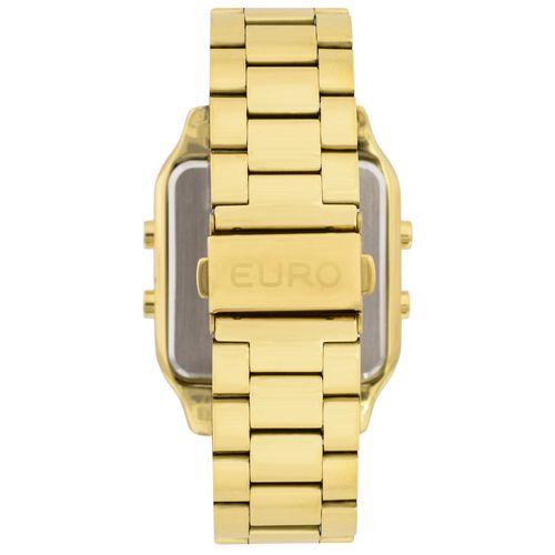 b55fefec30156 Relógio Euro Feminino Fashion Fit EUG2510AA 4P - Dourado - euro