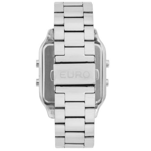 Relógio Euro Feminino Fashion Fit EUG2510AB 3P - Prata - euro 17b5b688eb