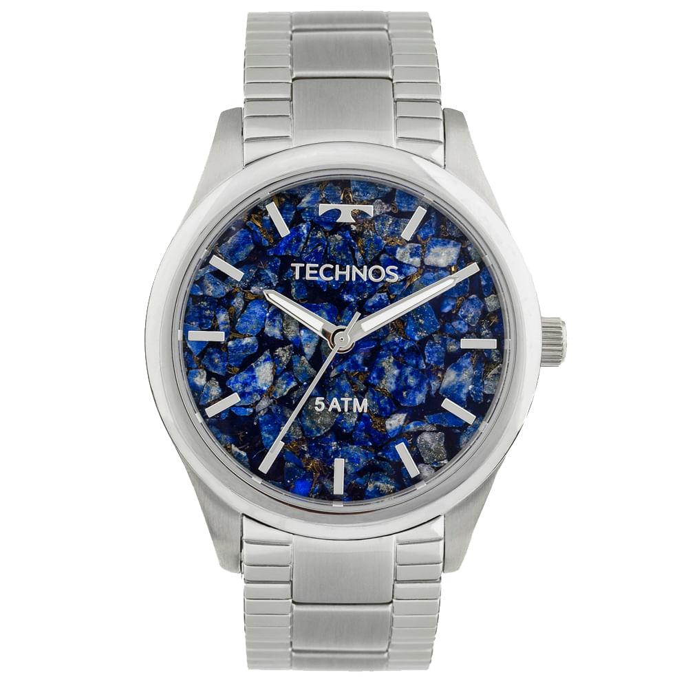 6e6bb18574d Relógio Technos Signature 2033CO 1G Prata - timecenter