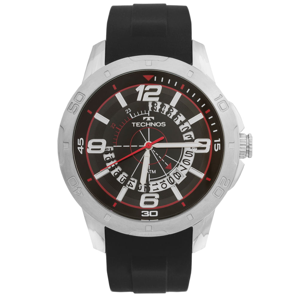 8d25e641b7b Relógio Technos Racer 2315ACH 8P Preto - timecenter