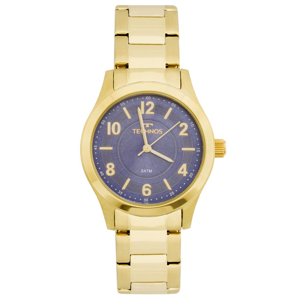 3626371a016 Relógio Technos Boutique 2035MFT 4A Dourado - timecenter