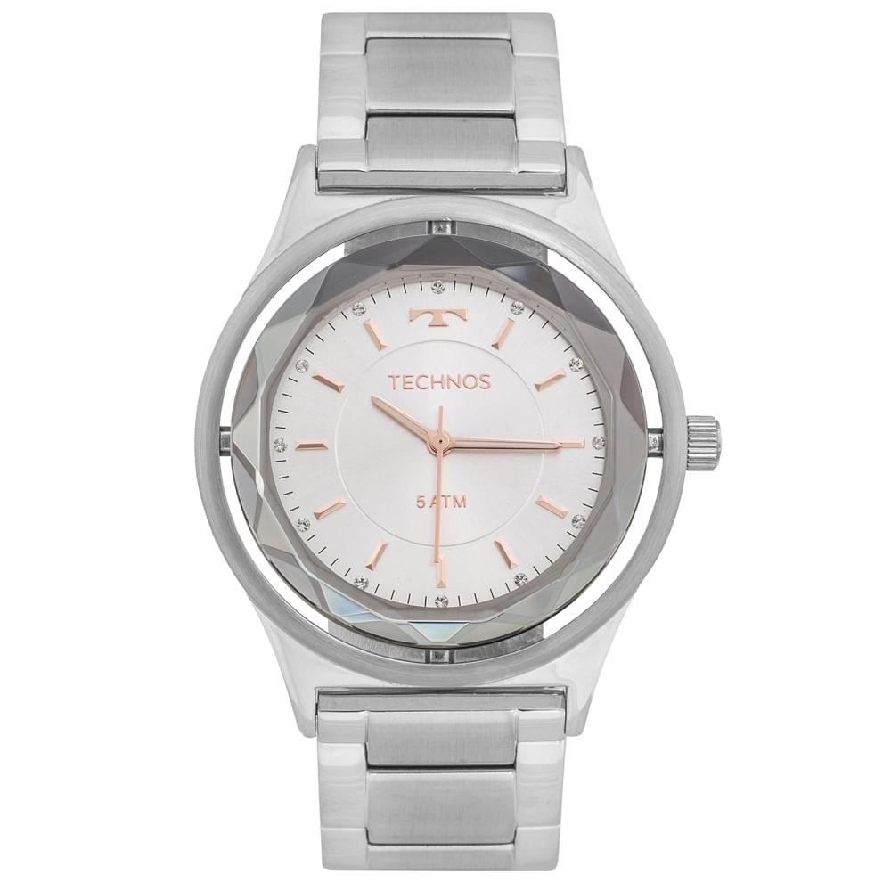 019532d3460 Relógio Technos Crystal 2035MIA 1K Preto - timecenter