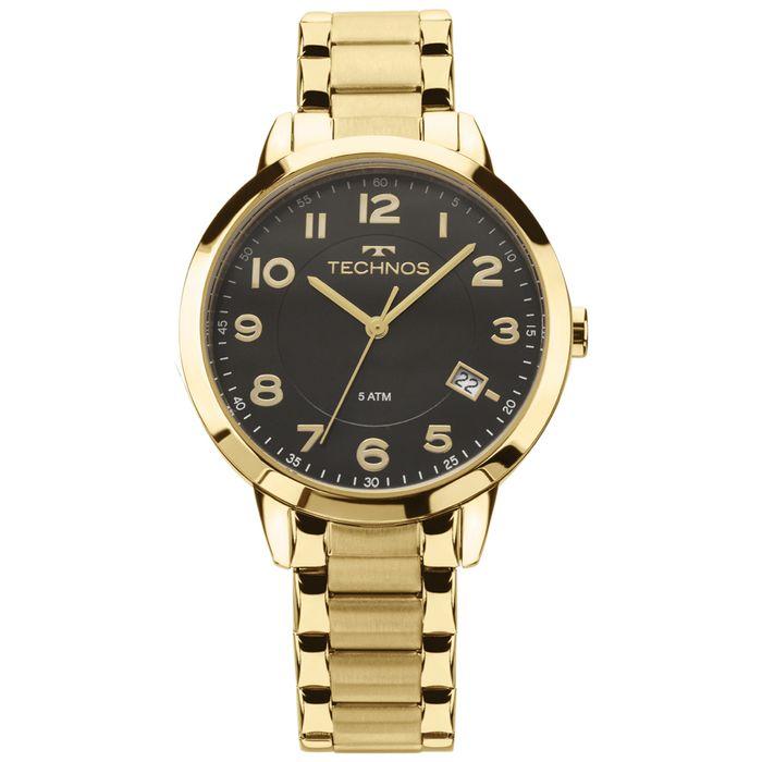 82085b96648 Relógio Technos Dress Feminino Dourado 2315ACM 4P - technos