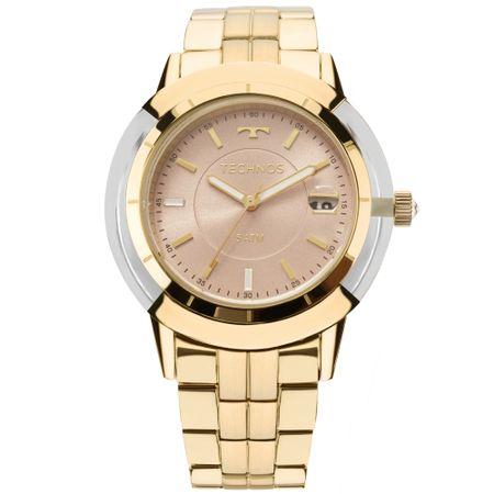 Relógio Technos Vitra Feminino Dourado 2317AB/4T