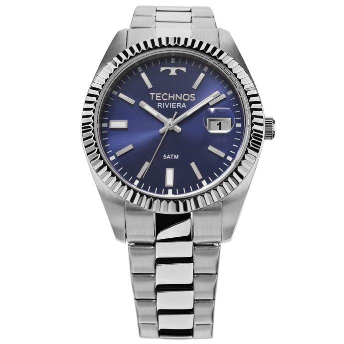 Relógio Technos Riviera Prata 2415CI 1A 03ad2b1188