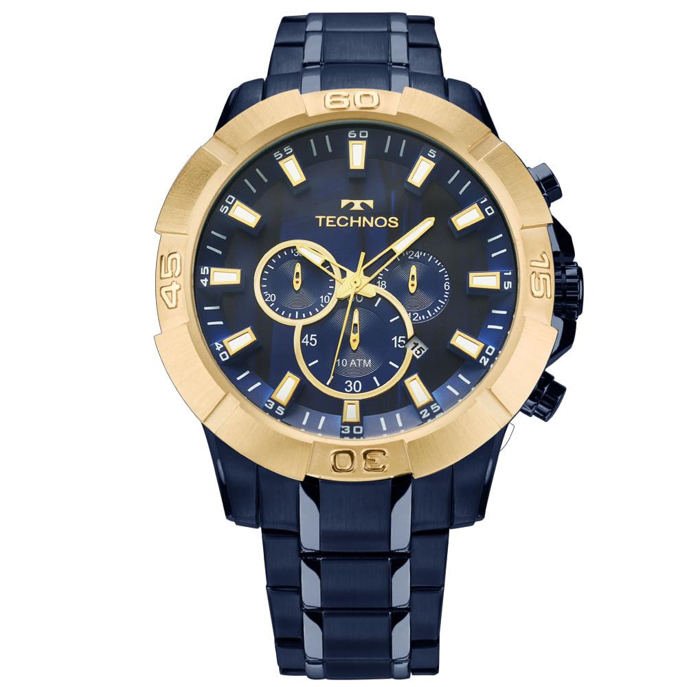 2ce3d580ac021 Relógio Technos Legacy Masculino Azul JS26AF 4A - timecenter