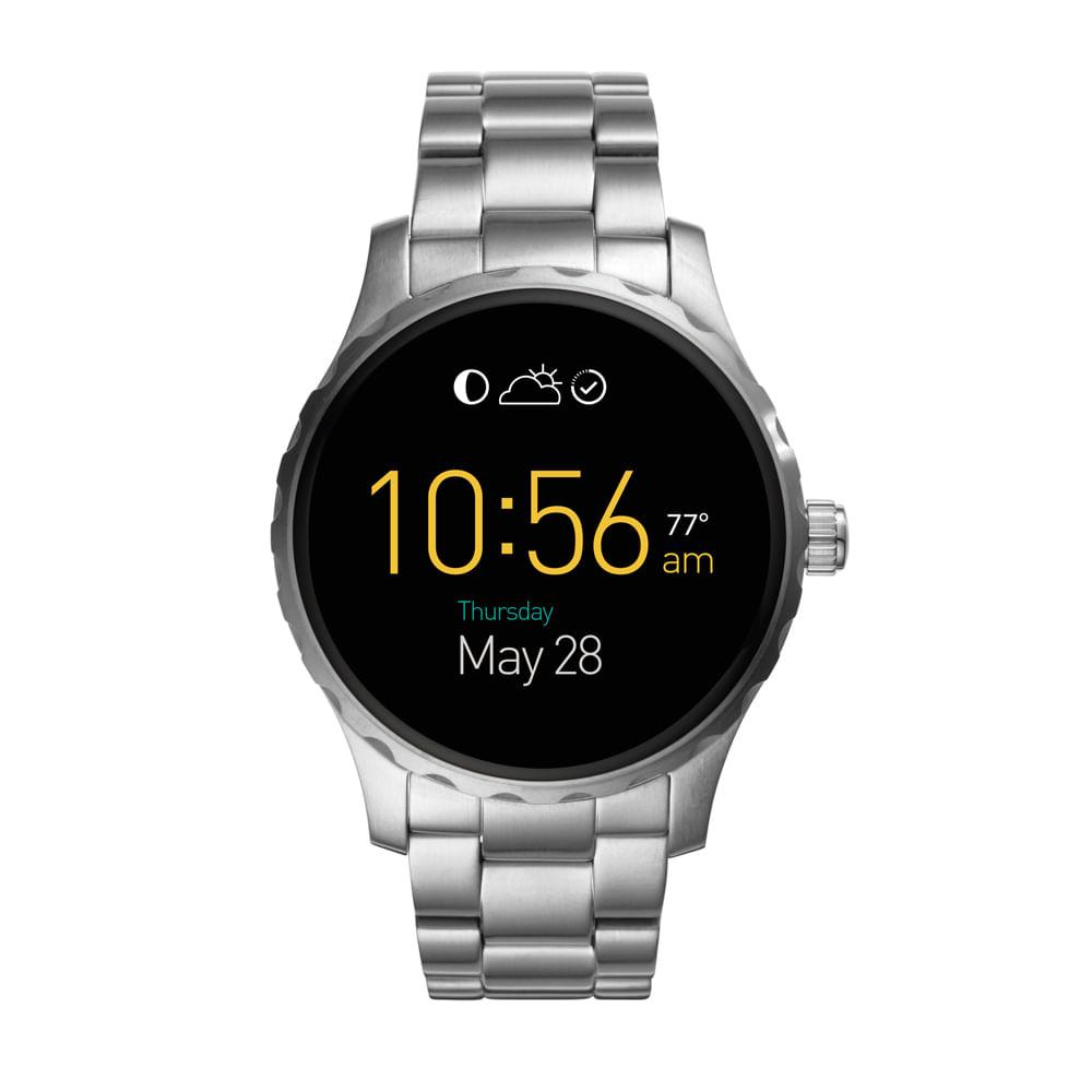 1abe729271f58 Smartwatch Fossil Prata - fossil