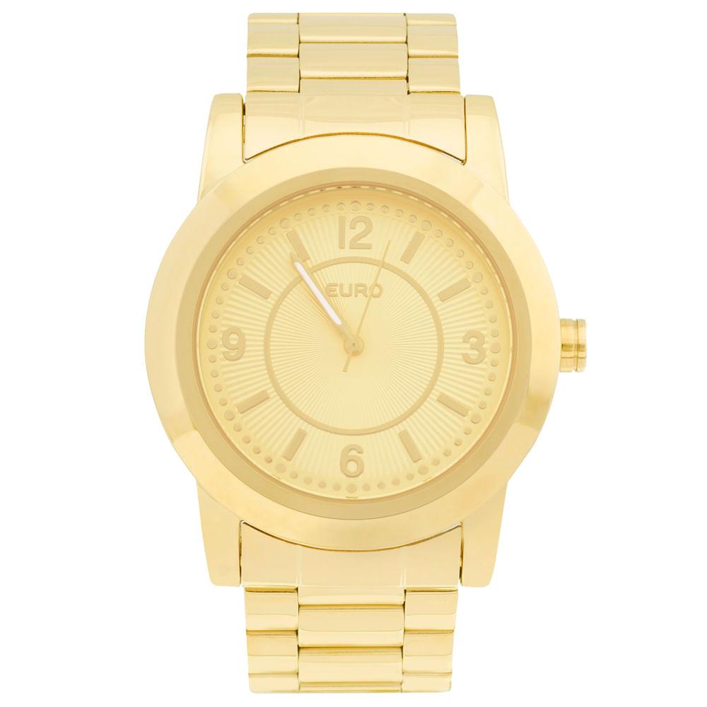 f95aacbf03d Relógio Euro Feminino Colors EU2036YGA 4D - Dourado - euro