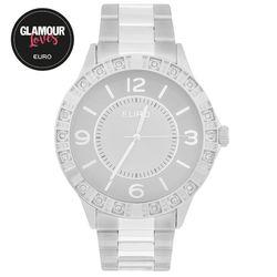 a73f8f6ae8 Relógio Euro Feminino Metalize EU2035YKV 3K - Prata