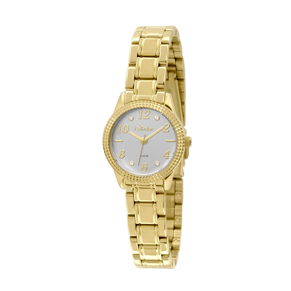 Relógio Condor Feminino Mini CO2035KSB 4C - Dourado. 0% Off. Código   CO2035KSB 4C 5c18ad7552