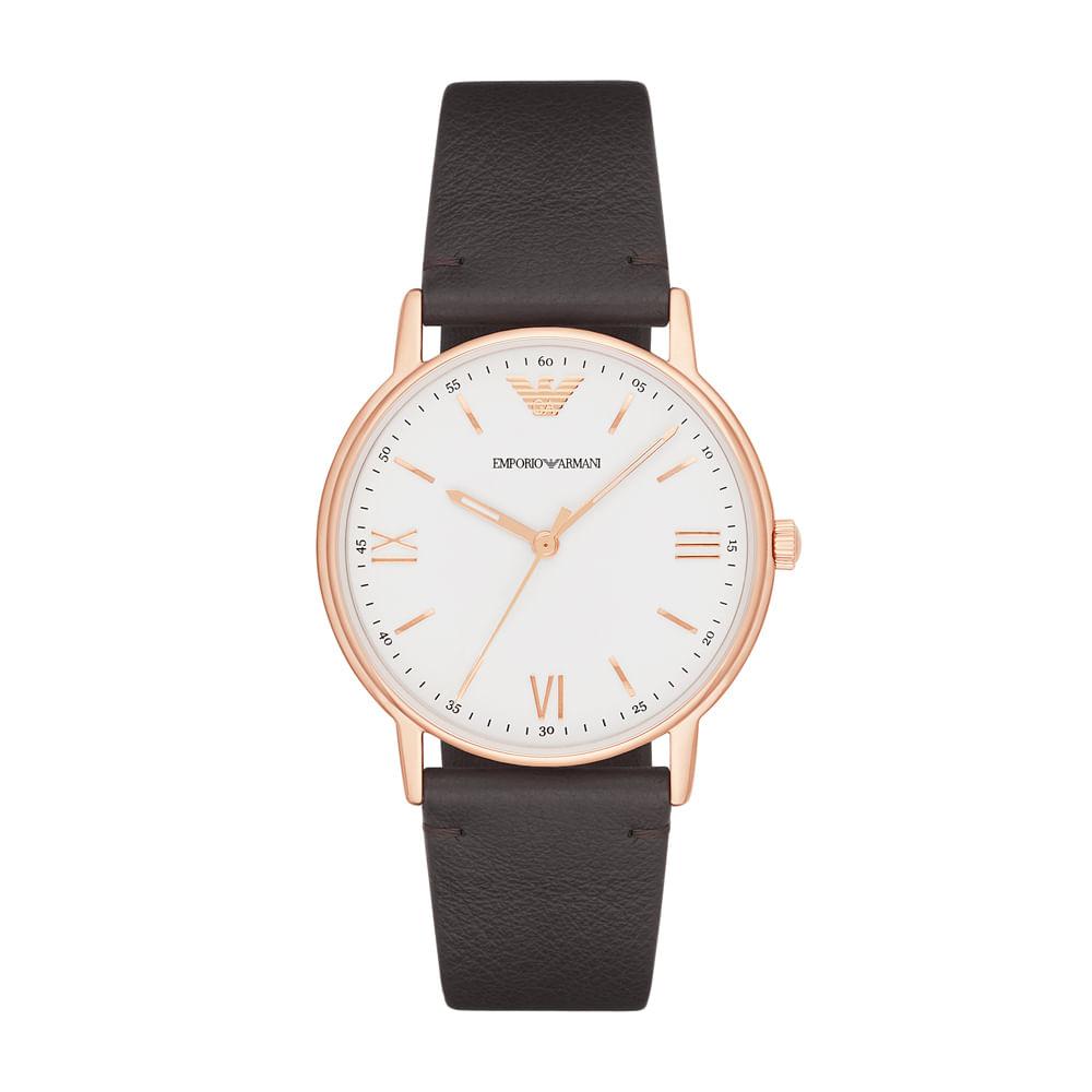 Relógio Emporio Armani Masculino Kappa - AR11011 2BN - timecenter 5d643f1df6