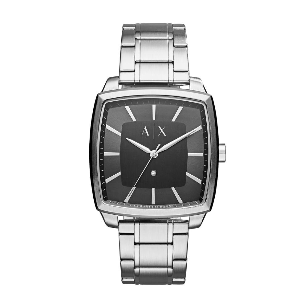 42af6b43c8e75 Relógio Armani Exchange Masculino Nico Square - AX2360 1PN - timecenter
