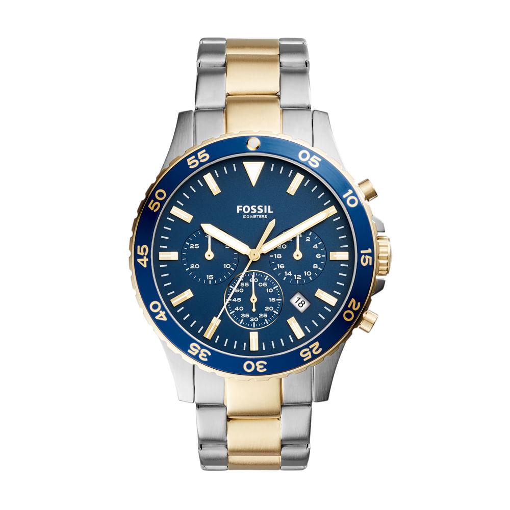 a396ef6e62d Relógio Fossil Masculino Crewmaster - CH3076 5AN - timecenter
