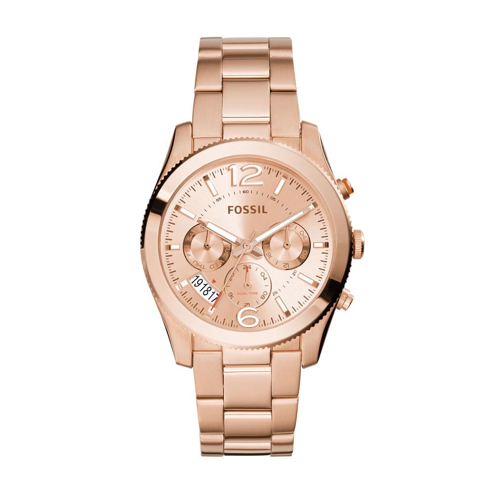 Relógio Fossil Feminino Perfect Boyfriend - ES3885 4XN - fossil 04f0cfdccc
