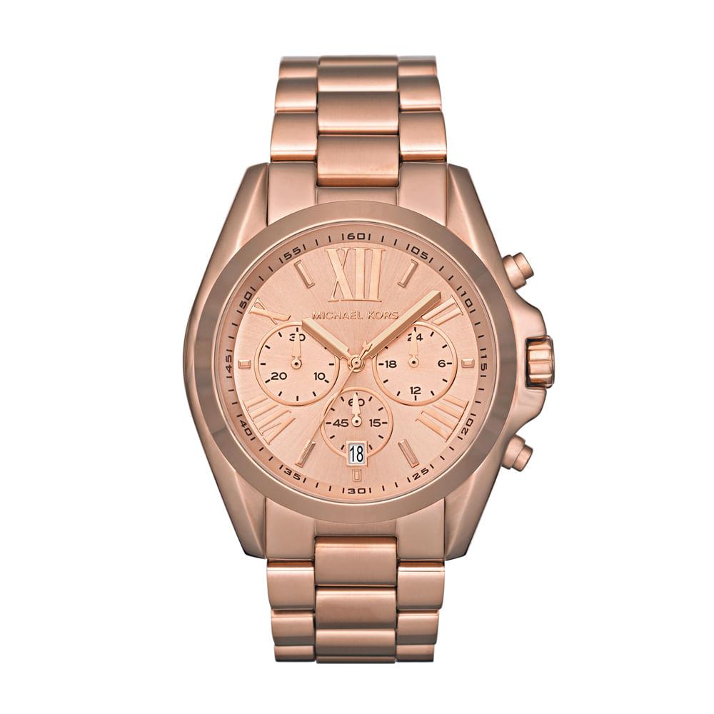 f0967138d120f Relógio Michael Kors Feminino Bradshaw - MK5503 4XN - timecenter