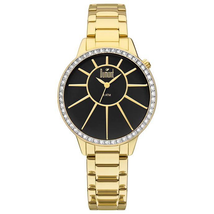 b6879b1ce46 Relógio - Dumont Dourado – Tempo de Black Friday
