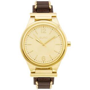 554d69fb35d Relógio Euro Feminino Coleção Esmaltados EU6P29AGS 5D - Dourado ...