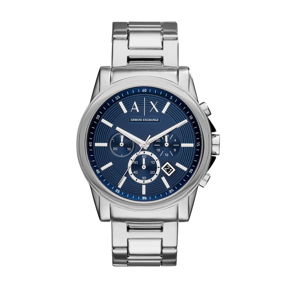 692eed9ac72d0 Relógio Armani Exchange Masculino Outerbanks - AX2509 1AI - timecenter