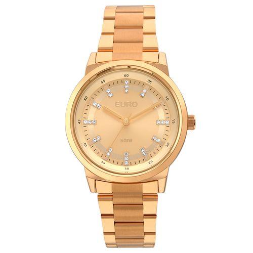 Relógio Euro Feminino Metal Colors EU2036YLG 4X - Rose Gold - euro baed0cdb14