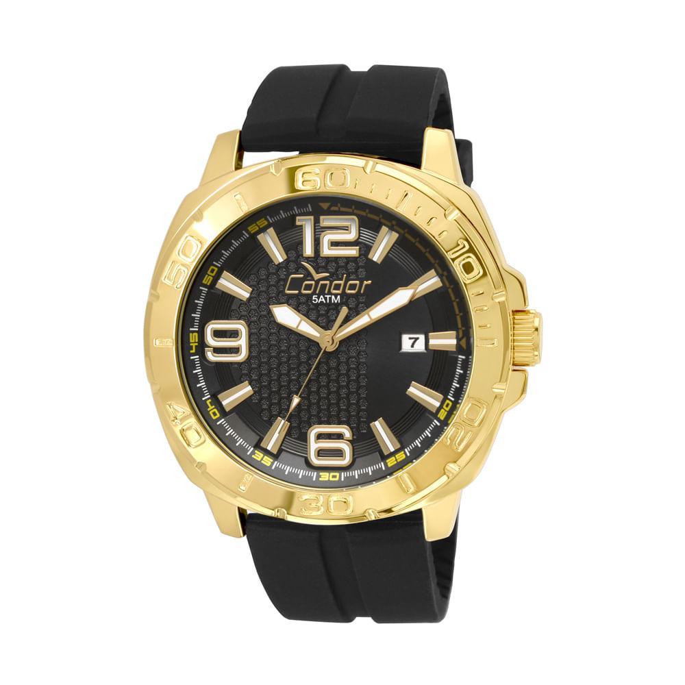 d1044786ab9 Relógio Condor Masculino Gradeados CO2415BE 8P - Preto - condor
