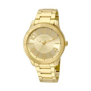 9657a46085e Relógio Condor Masculino Metal E Couro CO2035KSN 4D - Dourado