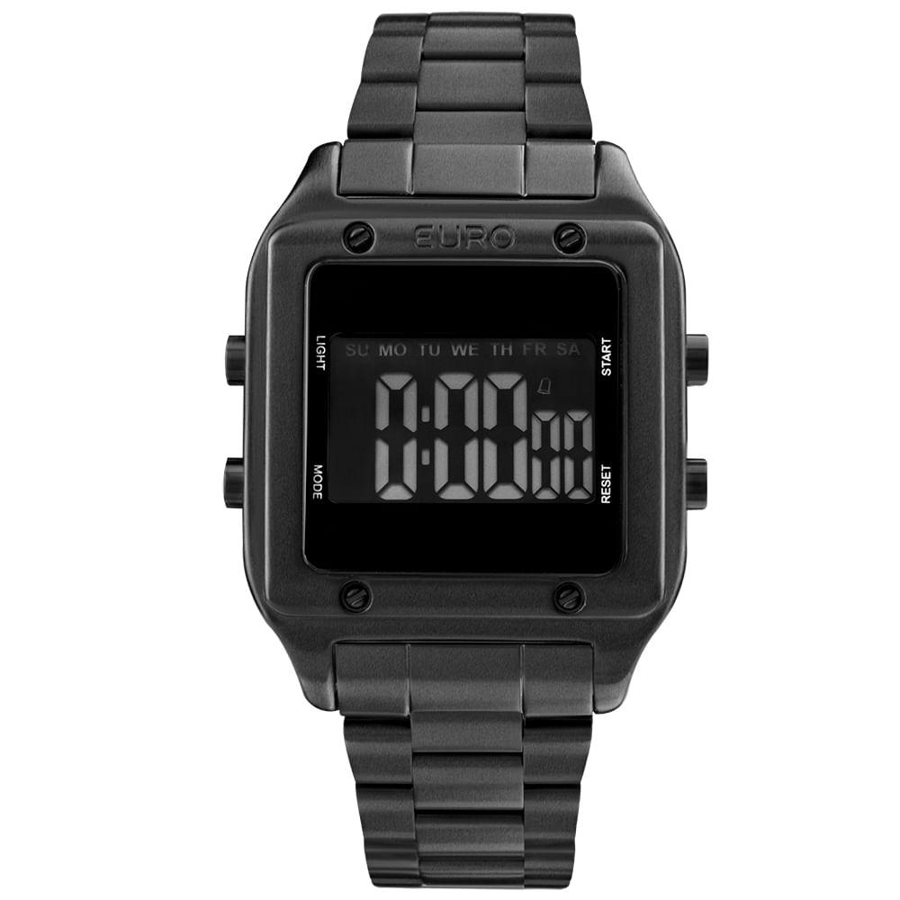 904923e300d23 Relógio Euro Feminino Fashion fit EUG2510AC 4P- Preto - timecenter