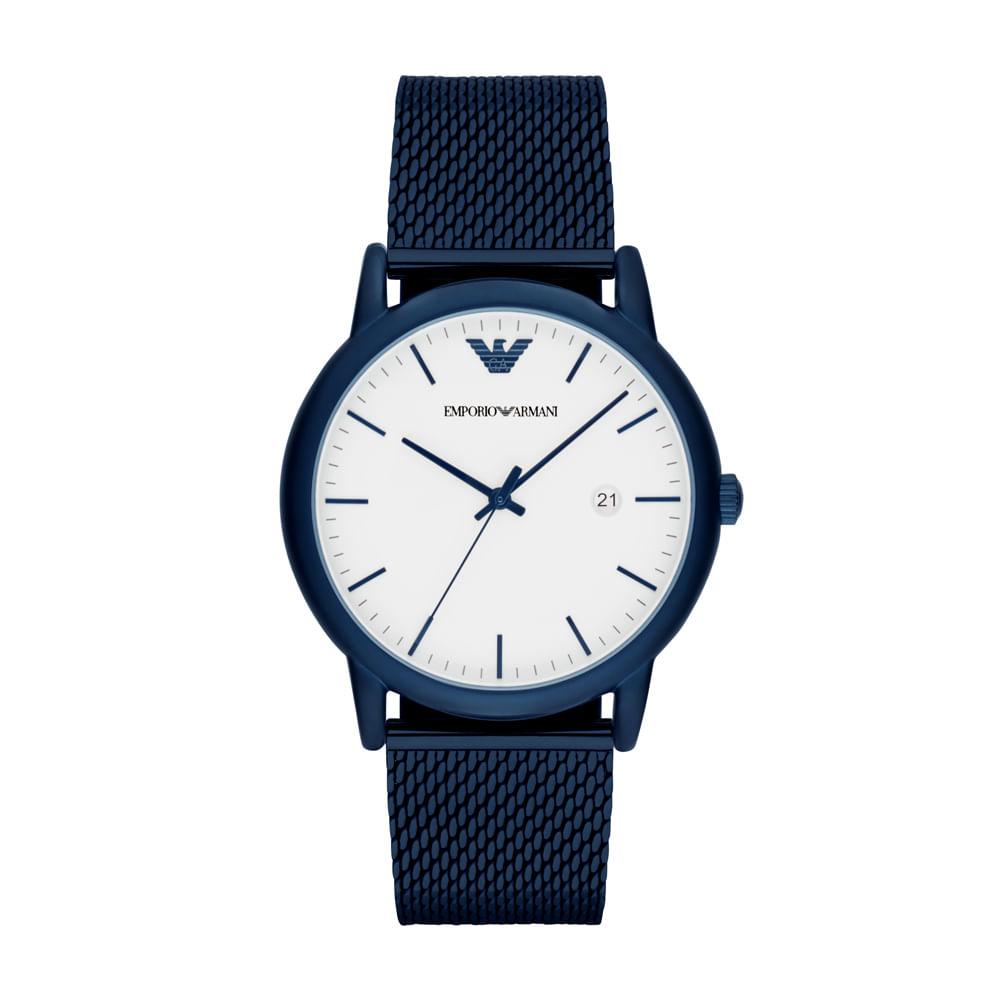 7a9d5d6f041 Relógio Emporio Armani Masculino Luigi - AR11025 4BI - timecenter