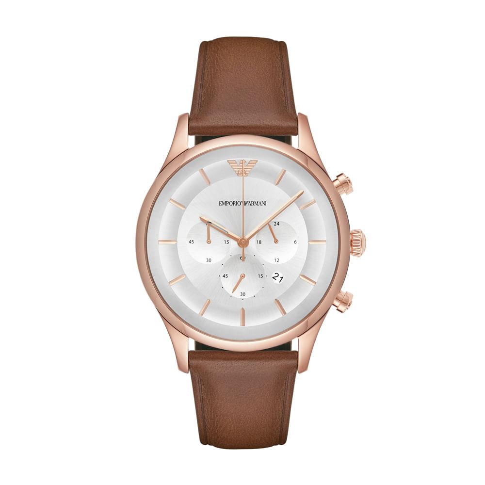 e3682a42178 Relógio Emporio Armani Masculino Lambda - AR11043 2KN - Tempo de ...