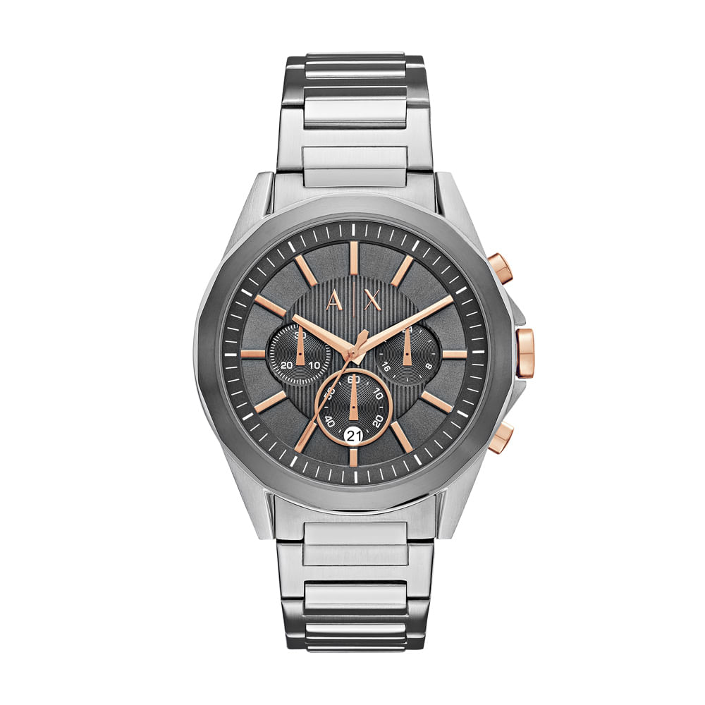 8f780b4ef73 Relógio Armani Exchange Masculino Drexler - AX2606 1KN - timecenter