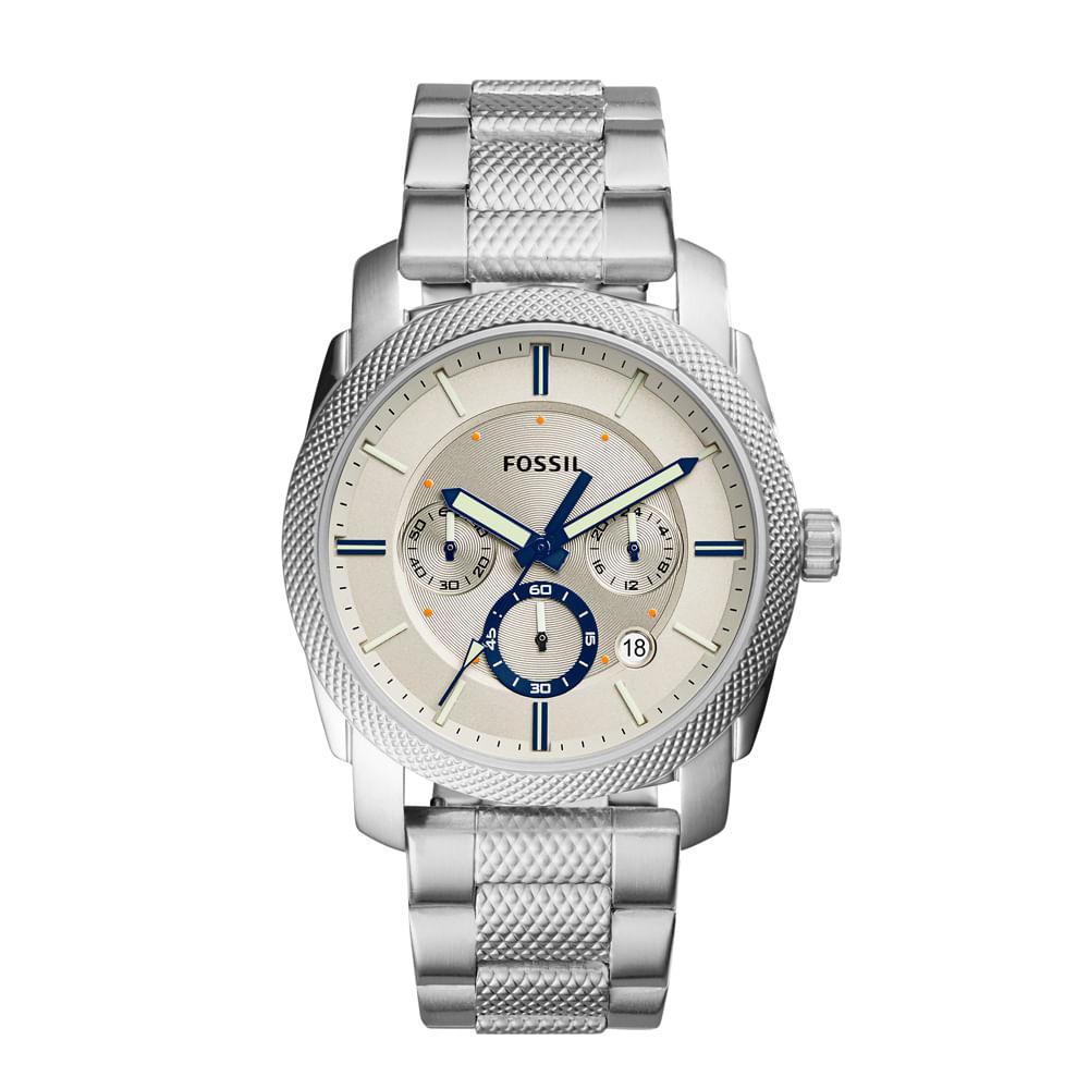 Relógio Fossil Masculino Machine - FS5324 1BN - fossil 87936edbf7