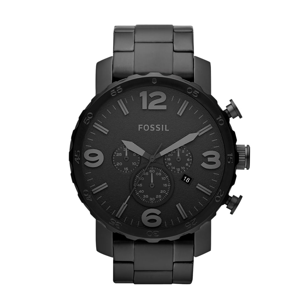 690e3ee7d72 Relógio Fossil Masculino Nate - JR1401 4PN - fossil